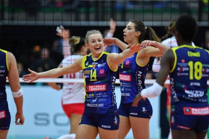 Cev Champions League femminile: Conegliano vince al tie break