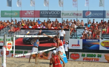 Del Monte Beach Volley Tour: gli Ingrosso e Martino-Tomatis in semifinale