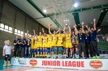 Del Monte® Junior League Poker DHL: Modena corona la stagione vincendo anche il trofeo Under 19