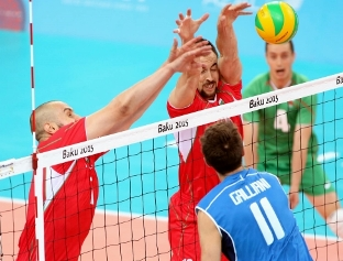 European Games-M: Italia superata 3 a 1 dalla Bulgaria