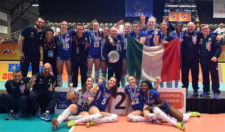 Europei Femminili Under 18: argento per l'Italia, battuta in finale al tie break dalla Russia