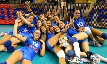 Europei juniores femminili: l'Italia ha travolto la Serbia 3 a 0 ed e' volata in finale