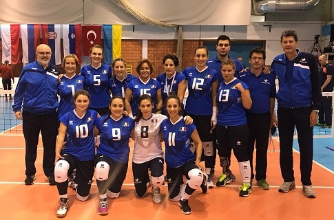 Europei Sitting Volley Femminili: l'Italia cede 3-0 all'Olanda