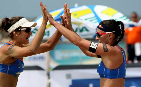 Europeo Beach Volley: avanti Cicolari-Giombini, eliminate Gioria-Momoli