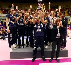 Girl League 2018: Vero Volley Saugella Monza campione