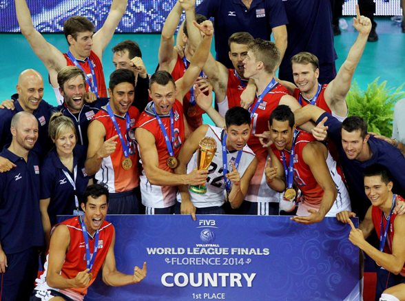 Gli stati Uniti vincono la World League 2014