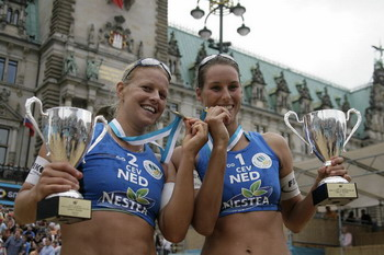 I vincitori dell'Eurobeachtour in Germania
