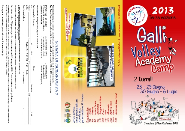 Il Galli Volley Accademy Camp
