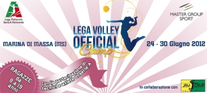 Il Lega Volley Official Camp by Jam Camp