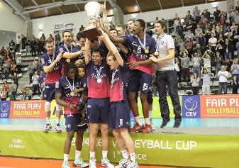 Il Paris Volley conquista la Coppa Cev maschile 2014