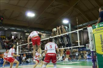 Il volley di serie A maschile in tv e in radio