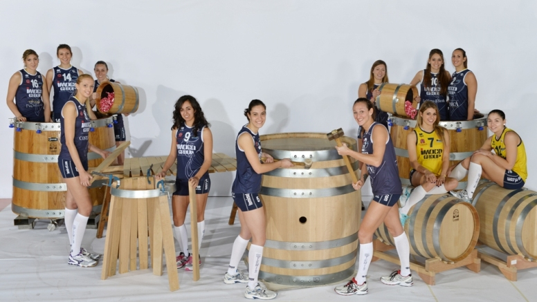 Imoco Volley al Vinitaly