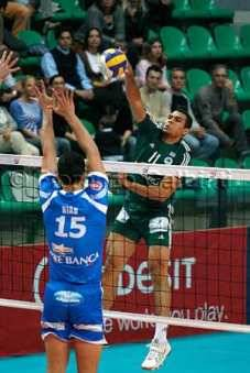 In Champions Cuneo battuto 3 a 0 dal Panathinaikos