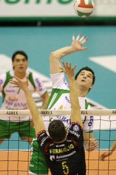 In Champions League Cuneo batte Treviso 3 a 1