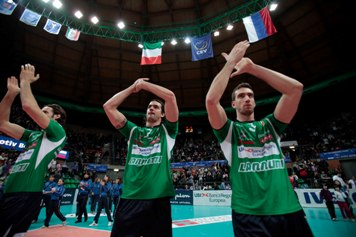 In Champions League Cuneo vince 3 a 1 a Belgorod, Treviso trionfa in Challenge Cup, Macerata si impone in MG Capital