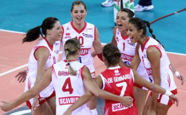 In Champions Pesaro piega Mosca, in CEV Busto travolge Le Cannet