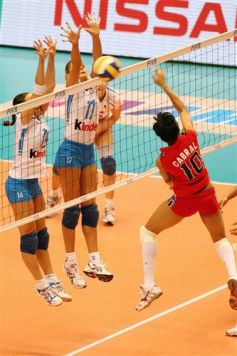 In World Cup l'Italia supera con un netto 3 a 0 la Rep. Dominicana