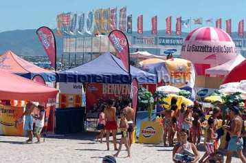Italian beach volley al via