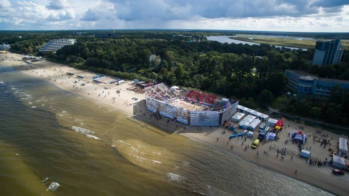 A Jurmala al via i Campionati Europei di beach volley