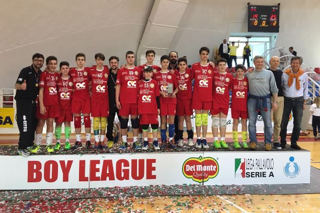 La CMC Romagna vince la Boy League
