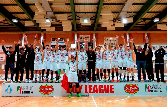 La Cucine Lube Civitanova vince la Boy League 2018