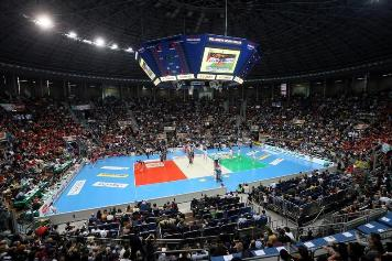 La Final Four Del Monte Coppa Italia SuperLega al PalaDozza di Bologna