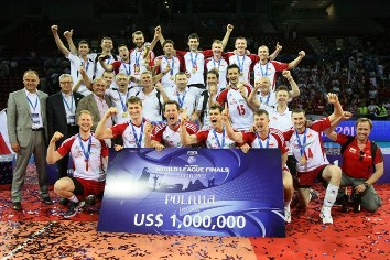 La Polonia vince la World League 2012