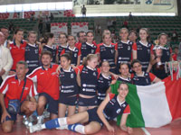 L'Anderlini & Sassuolo Volley è Campione d'Italia Under 14 e 18