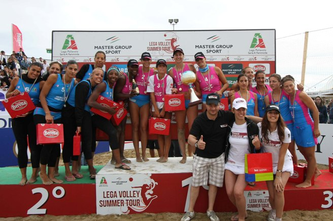 Lega Volley Summer Tour: la Scavolini Pesaro vince la 7^ Supercoppa Italiana