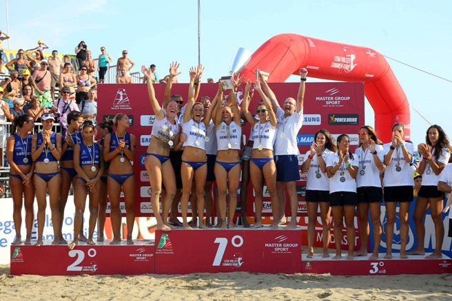 Lega Volley Summer Tour: Scandicci conquista il 23^ Campionato Italiano di Sand Volley 4X4