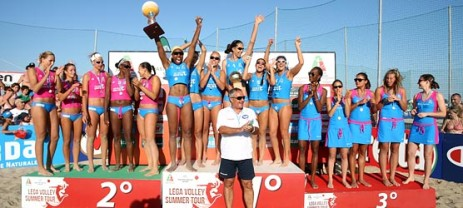 Lega Volley Summer Tour: Soverato vince a Cervia