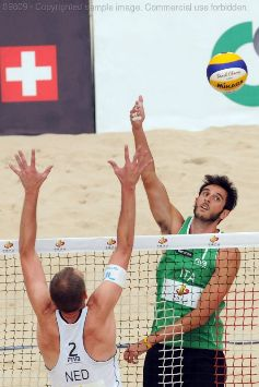 L'Europeo di beach volley a L'Aia stile Grand Slam