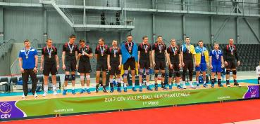 L'Ukraina ha vinto l'European League maschile 2017