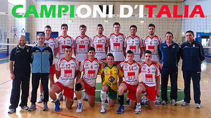 Macerata conquista lo scudetto under 19 maschile
