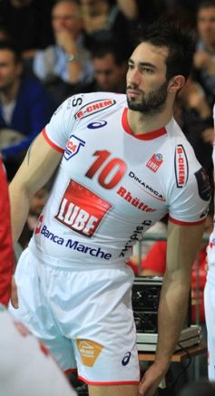 Matteo Martino al Montpellier Volley