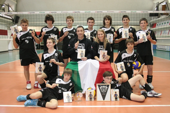 Volley Ball San Martino campione provinciale under 14