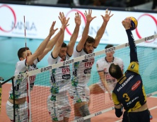 Nel posticipo di SuperLega maschile Verona supera Trento al tie break
