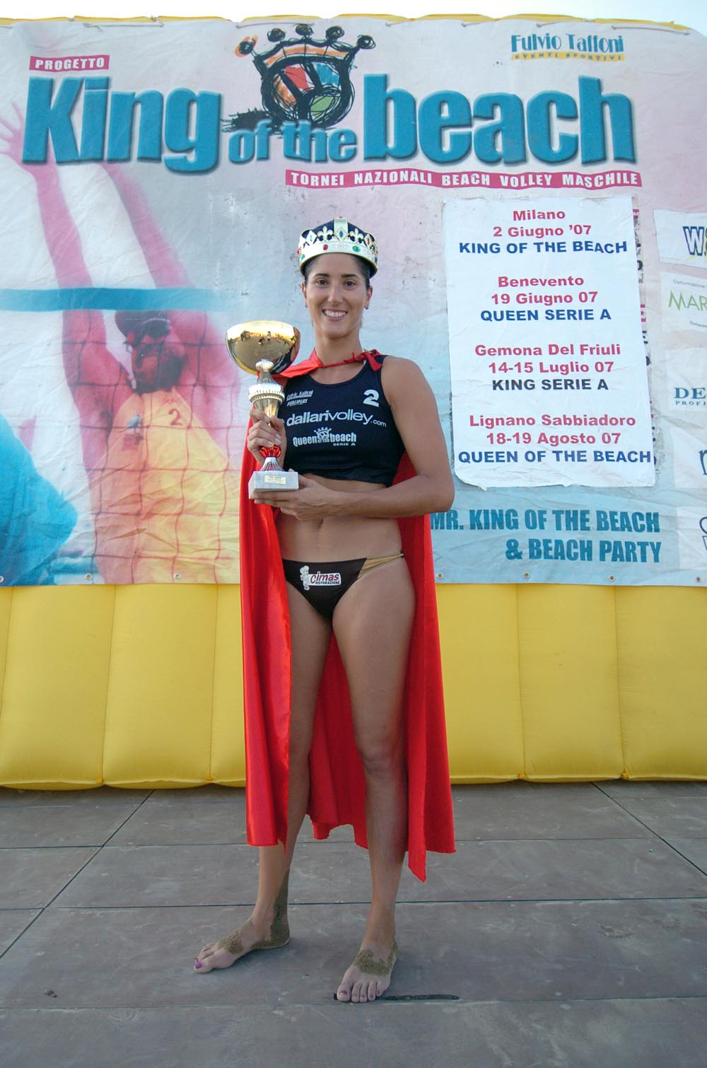 Nicoletta Luciani è la King of the beach 2007