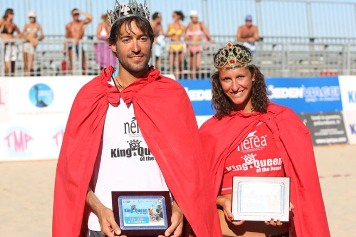 Paolo Ficosecco e Lara Dal Canto King & Queen of the beach 2011