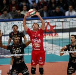 Piacenza batte Perugia 3 a 1 in gara 2 dei quarti di finale play off scudetto