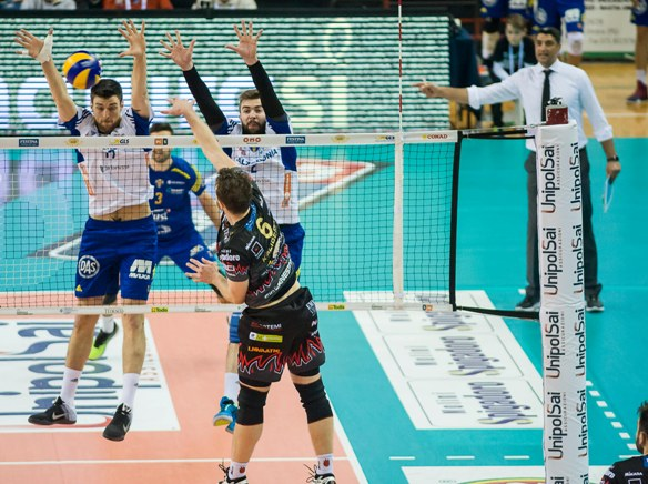 Play off di Superlega all'insegna delle sorprese