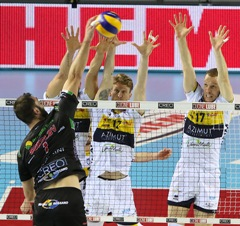 Play off scudetto maschili, Civitanova batte Modena al fotofinish in gara 3. Play off Challenge: bene Latina, stagione conclusa per Milano