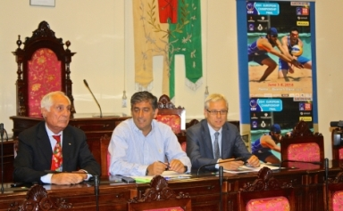 Presentato il Campionato Europeo di Beach Volley
