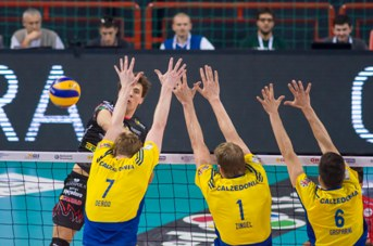 Quarti di Finale Gara 1 Play off scudetto maschili: Verona vince a Perugia al tie break