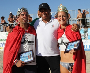 Ritorna il king & Queen of the Beach