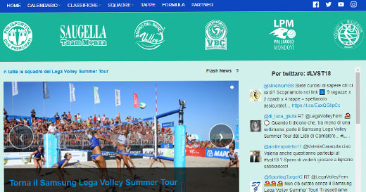 Lega Volley Calendario.Samsung Lega Volley Summer Tour Femminile Sabato A Lido Di