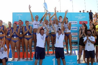 Samsung Lega Volley Summer Tour: la Savino Del Bene Scandicci vince la Supercoppa Italiana femminile