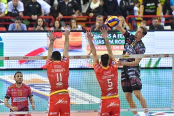 Sono iniziati i Play Off Scudetto e Play Off Challenge maschili, vittorie per Perugia e Latina