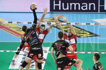 SuperLega maschile: nel week end Gara 2 dei Quarti di Finale dei Play Off Scudetto e Gara 2 degli Ottavi dei Play Off Challenge