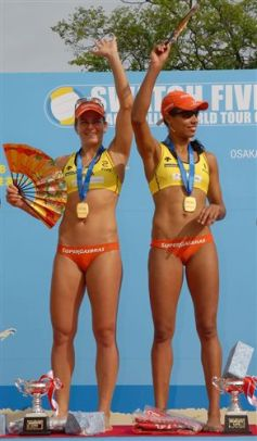 Swatch Fivb World Tour femminile a Keihan: vincono Juliana-Larissa